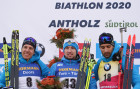 Italy Biathlon Worlds Men Sprint