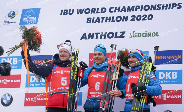Italy Biathlon Worlds Men Pursuit