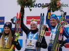 Italy Biathlon Worlds Women Mass Start