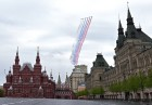 Victory Day flypast in Moscow