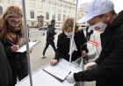 Belarus Presidential Election Picket