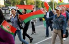 Belarus Lukashenko Supporters Rally