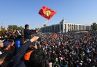 Kyrgyzstan Parliamentary Elections Protest