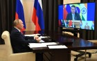 President of Russia Vladimir Putin takes part in XII BRICS Summit