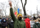 Moldova Sandu Supporters Rally