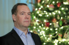 Russia Medvedev New Year Address