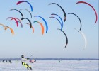 Russia Snowkiting Race