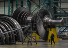 Russia Steam Turbine Assembling