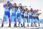 Slovenia Biathlon Worlds Mixed Relay