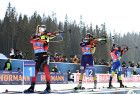 Slovenia Biathlon Worlds Women Relay