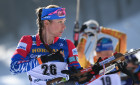 Slovenia Biathlon Worlds Women Mass Start
