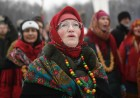 Russia Maslenitsa Celebration