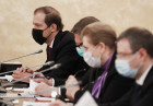 Russia Mishustin Coronavirus Governmental Board