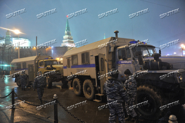Enhanced security measures in Moscow