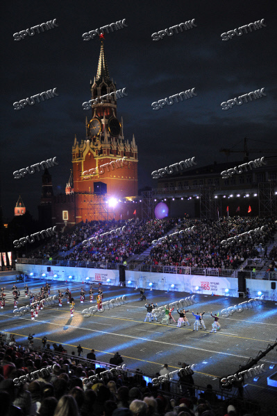 Opening ceremony of Spasskaya Tower 2012 festival