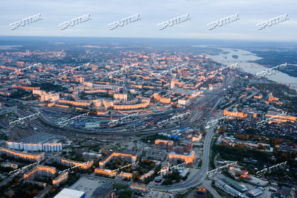 VIEW OF NOVOSIBIRSK