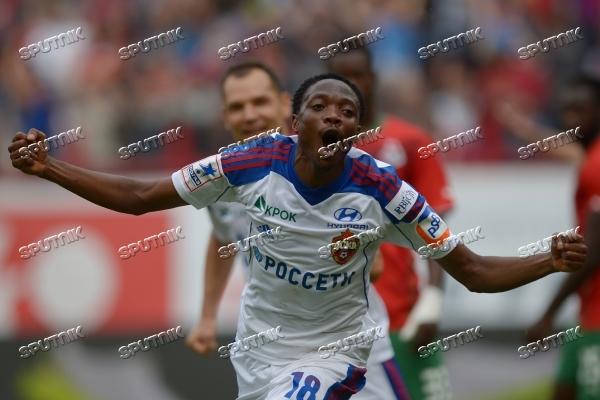 Russian Football Premier League. Lokomotiv vs. CSKA