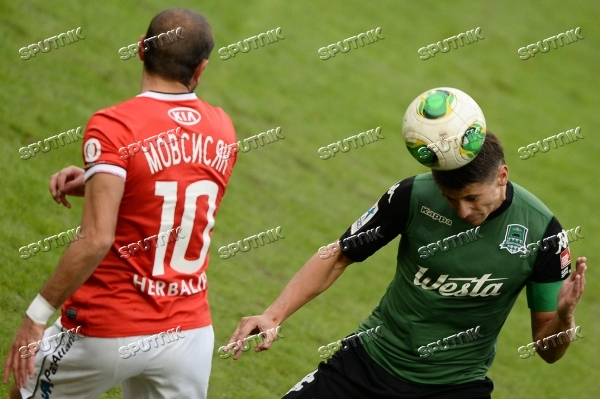 Russian Football Premier League. Spartak vs. Krasnodar