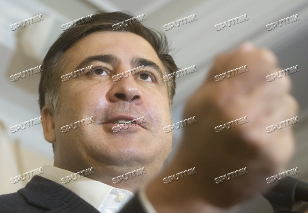 Mikhaeil Saakashvili's news conference in Kiev