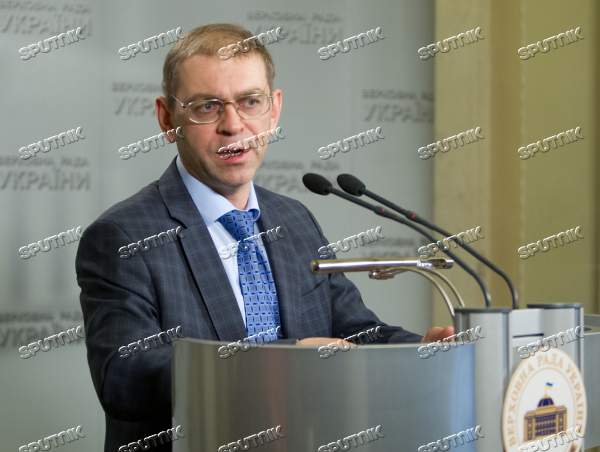 Acting Head of Ukrainian Presidential Executive Office Sergei Pashinsky