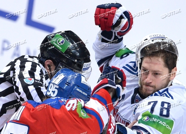 Kontinental Hockey League. Lev Praha vs. Metallurg Magnitogorsk