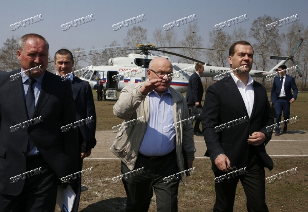 Dmitry Medvedev's working visit to Far Eastern Federal District. Day Two