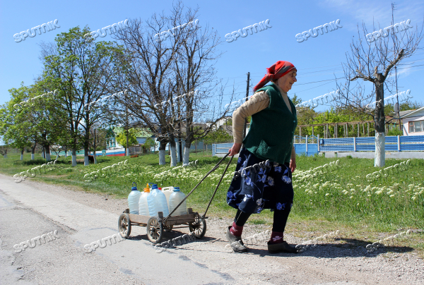 The situation with fresh water reserves in the Crimea