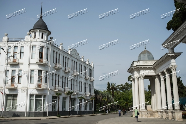 Cities of the world. Sukhumi