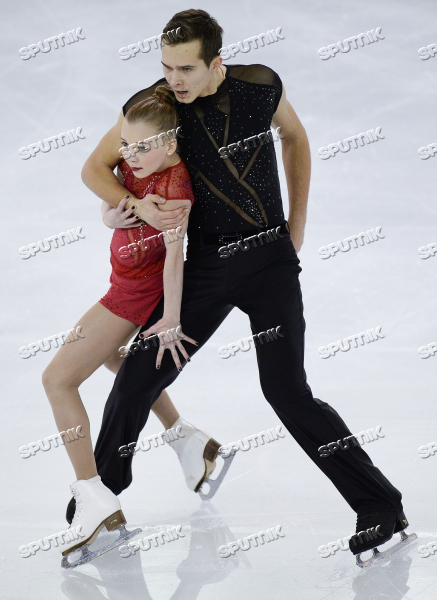 Junior Grand Prix Final in Figure Skating. Pairs. Short Program.