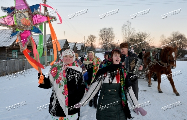 Celebrating Christmas in Belarusian villages