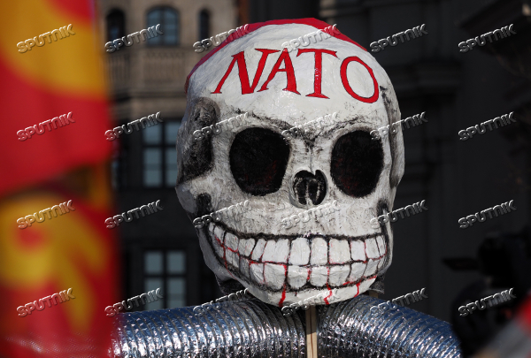 Anti-NATO protest rally in Munich