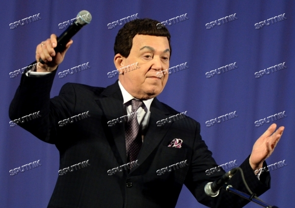 Iosif Kobzon gives concert in Donetsk