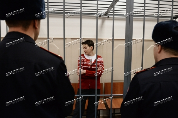 Court hears Nadezhda Savchenko's case