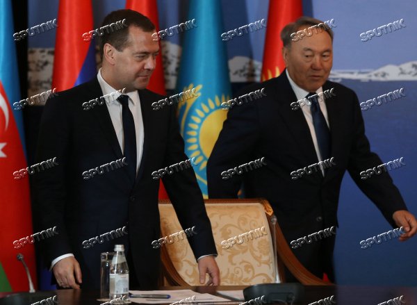 Prime Minister Dmitry Medvedev takes part in meeting of CIS and EAEU heads of governments in Kazakhstan