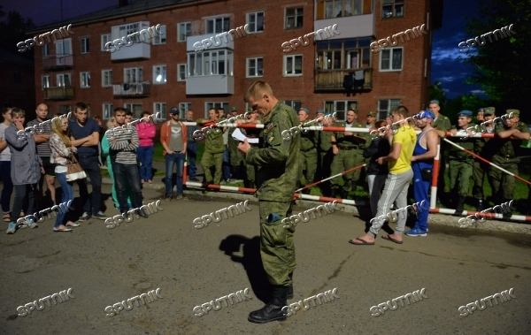 Military barrack collapses in Omsk region