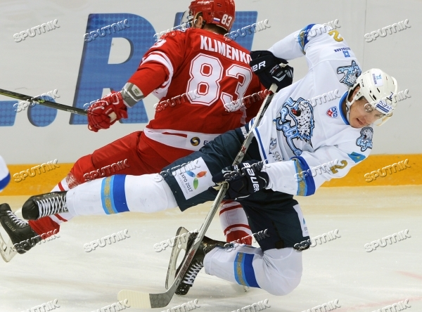 Ice hockey. KHL. Spartak vs. Barys