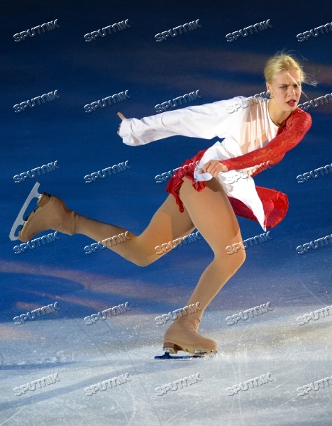 Russian Figure Skating Championships. Exhibition gala
