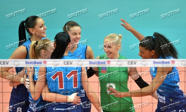 CEV Champions League. Women. Dynamo Moscow vs. Rebecchi Nordmeccanica