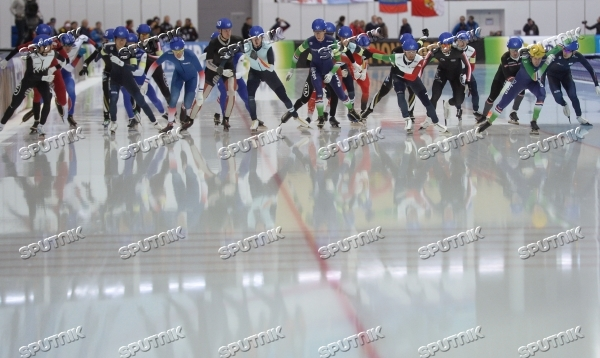 ISU World Single Distance Speed Skating Championships. Day Four