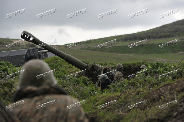 Situation near Madagis village in the Karabakh conflict zone
