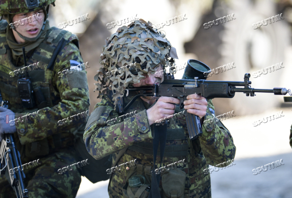 NATO holds Spring Storm drill in Estonia