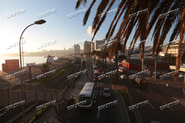 Cities of the world. Valparaiso.