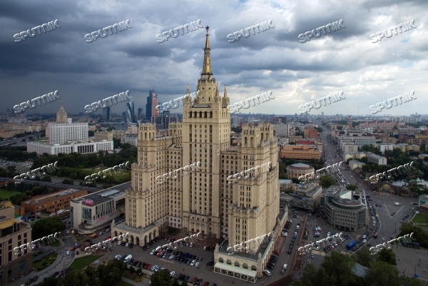 Bird's-eye views of Moscow