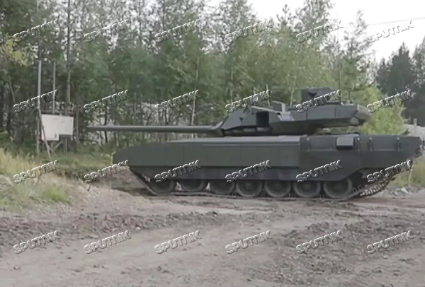 Demonstration of T-14 Armata tank