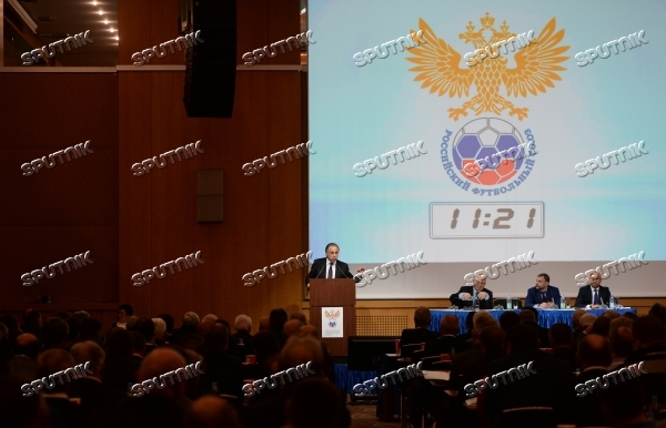 Russian Football Union holds extraordinary meeting