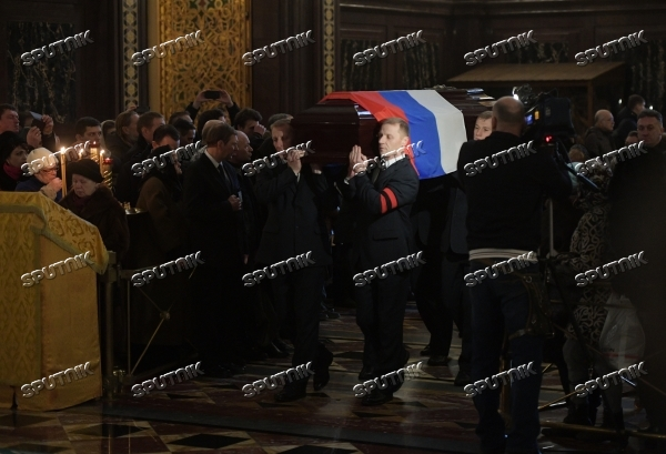 Funeral service for Russian Ambassador to Turkey Andrei Karlov
