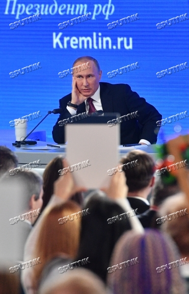 President Vladimir Putin's 12th annual news conference