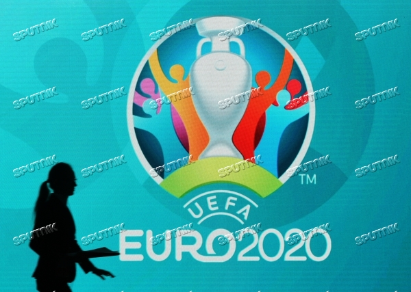 Presentation of official logo of St. Petersburg, UEFA Euro 2020 host city
