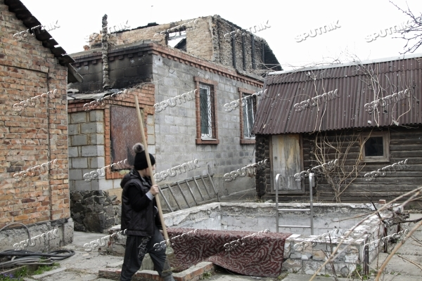 Consequences of shellings in Donetsk Region