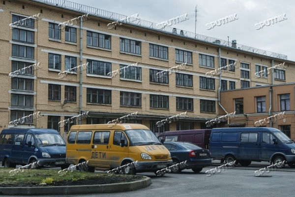Police search St Petersburg orphanage following reports of